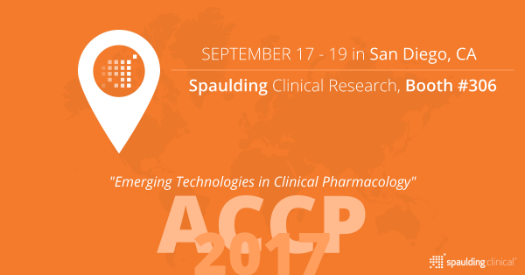 Spaulding Clinical Research Booth #306 Graphic Banner for ACCP 2017