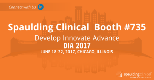 Spaulding Clinical banner ad for DIA 2017