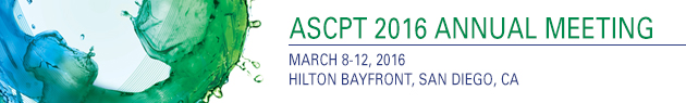 ASCPT 2016 Annual Meeting